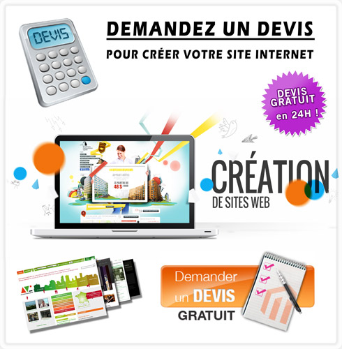 Devis creation de site web