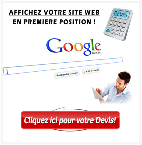 Devis referencement de site web